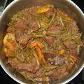 boeuf bourguignon aux legumes