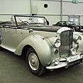 <b>BENTLEY</b> <b>Mark</b> <b>VI</b> cabriolet Park Ward 1949