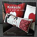 Livre : kokeshi au point de croix
