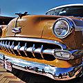 Retro Sur Mer 2021 - Lowdown <b>Chevrolet</b> Two-door 1954 mild-custom.. pinstriping ou patina?