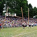 Bressuire highland games: haunted castle and crazy cabers