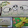 <b>Boite</b> broderie mouton