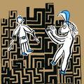 thésée et le minotaure (illustration)
