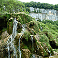 Baume-les-messieurs / chateau-chalon (jura)