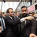 1 Mai 2018 Affaire <b>Benalla</b>-Elysée