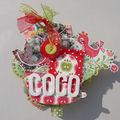 Bon anniversaire Coco - (Projet Mini album Scrapperlicious)