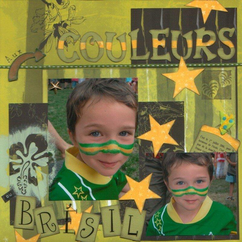 aux couleurs du Brésil