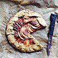 Galette rustique aux pommes
