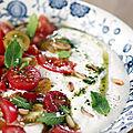 Un livre, une recette #19: tomate mozza autrement