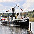 Défilé de <b>bateaux</b> <b>à</b> <b>vapeur</b> <b>à</b> Mikkeli
