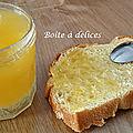 Confiture de <b>courgette</b>-citron