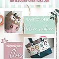 Réservez votre atelier <b>créatif</b> couture en quelques clics !