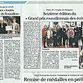 Le petit journal catalan : à propos du 16 grand prix roussillonnais des écrivains (2)