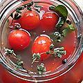 Tomates-cerises fermentées