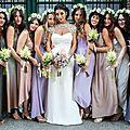 Robe de demoiselles d'honneur habillées au style en ligne