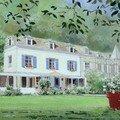 Maison à Honfleur - gouache - Juillet 2006