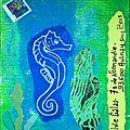 MAIL ART / ART POSTAL : HYPPOCAMPE
