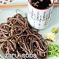 Zaru soba: nouilles d'été à la japonaise