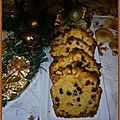 Cake de Noël aux <b>fruits</b> <b>confits</b>