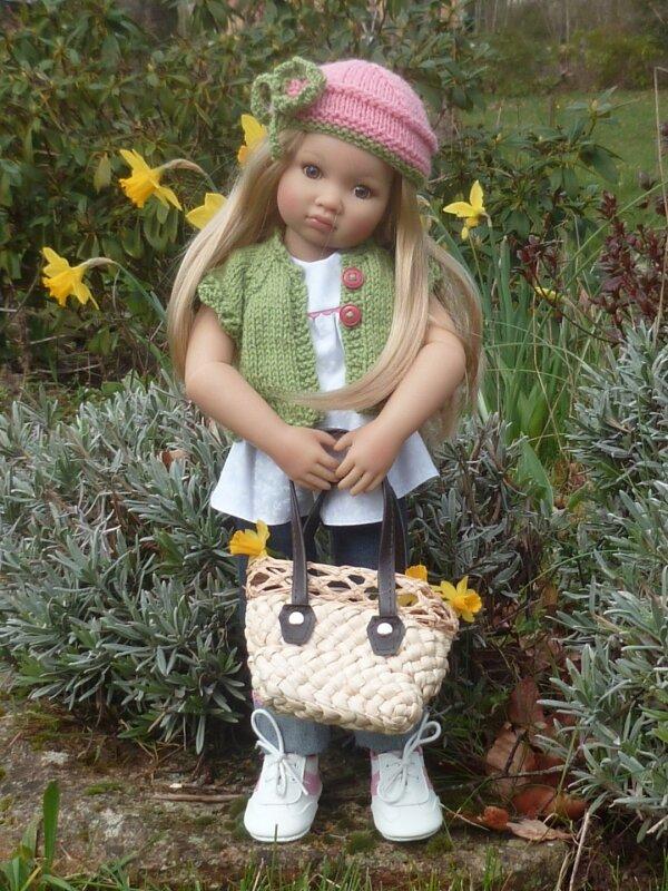 Louisa au jardin