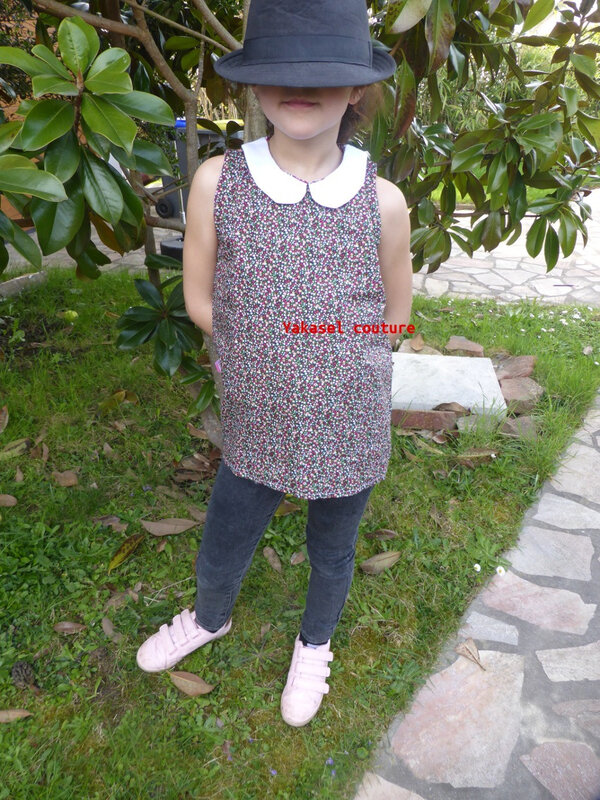 blouse col claudine Y
