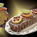 Cake agrumes chocolat et <b>voile</b> de sucre glace !