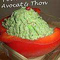 Poivron farçi Avocat & thon 1