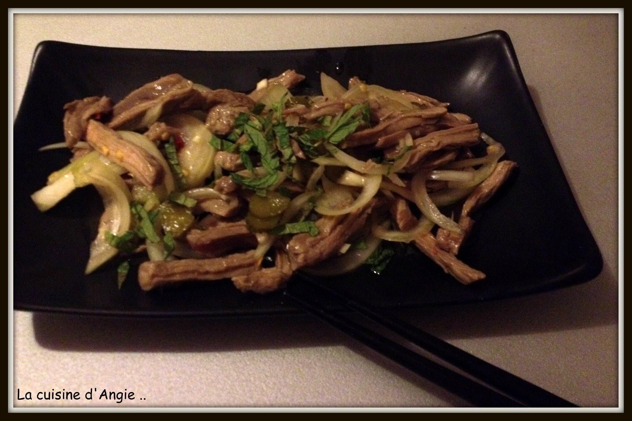 Salade de boeuf (Thaïlandaise)