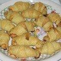 Croissants saumon