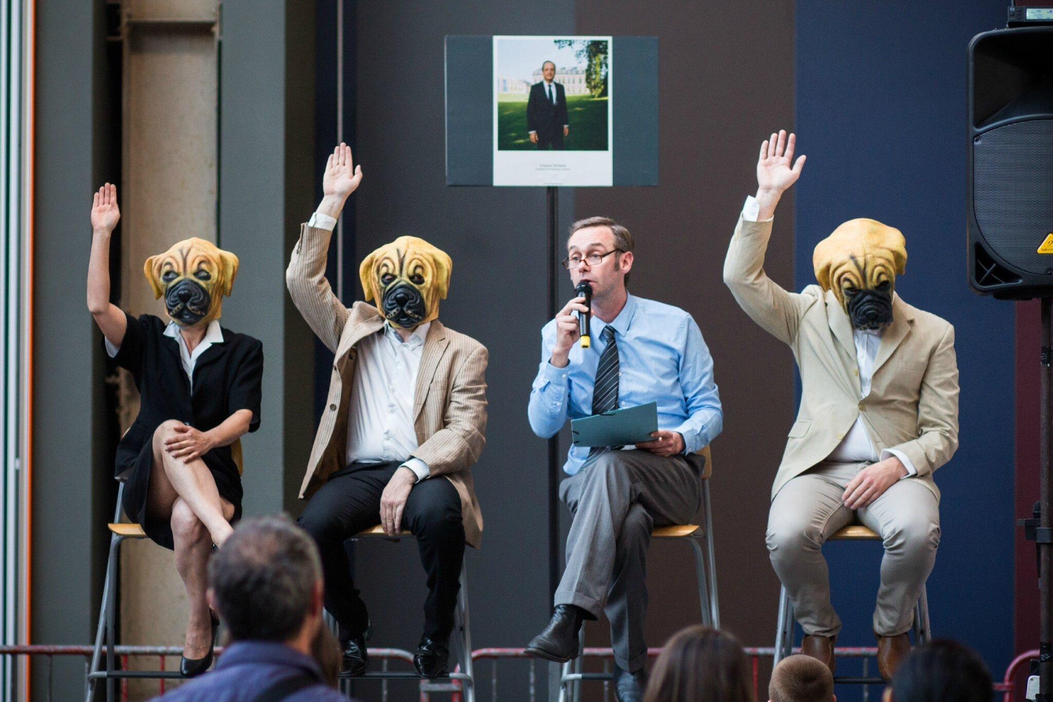 «Le Forum des assos» de la Cie Utopium théâtre en spectacle à Avranches vendredi 12 mai 2017
