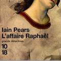 L'affaire raphael, iain pears