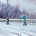 le parapluie turquoise w25x25 0215