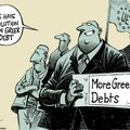 O Grèce, suspends ta <b>dette</b> !