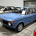 Bmw 1602 berline 2 portes de 1974 (RegioMotoClassica 2011) 01