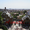 Hansel-and-Gretel-style Houses,Parc Güell , Barcelona.