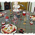 Table bonhomme en pain d'épice 050