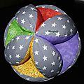 Balle couleurs