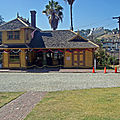 PALMS SOUTHERN PACIFIC RAILROAD DEPOT - MONTECITO HEIGHTS