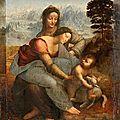 La « Sainte Anne » de Vinci menacée par une restauration trop internvetioniste ?