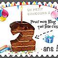 ✿⊱╮ anniversaire 2 ans du blog { fini }