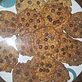Cookies banane amande