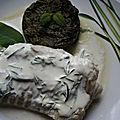 Filet de julienne à la crème d'herbes