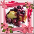 * pudding brioché aux fruits rouges