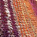 Cache-coeur Elle tricote en Arale, Baby Alpaca et lurex