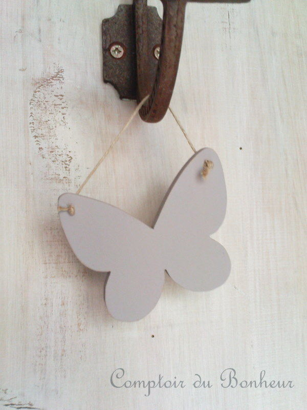 papillon bois