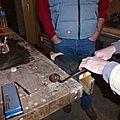 Session de travail avec un charpentier de marine - étape 01