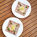 ...<b>Galette</b> œuf jambon fromage de Cyril Lignac dans tous en cuisine, 2eme édition...
