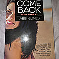 Rosemary Beach, Reese & Mase, tome 2 : Come back