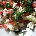J4 : salade fenouil, feta et rubis (grenade) pour partir à la découverte de yotam ottolenghi