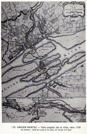 Ancien Nantes - plan anglais